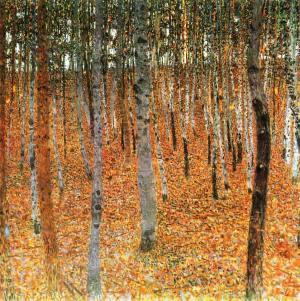 Gustave Klimt, Birch Trees