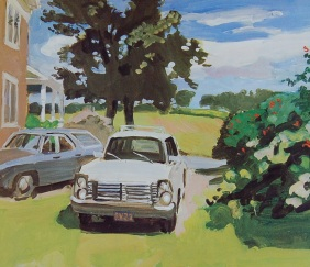 Fairfield Porter, The Driveway