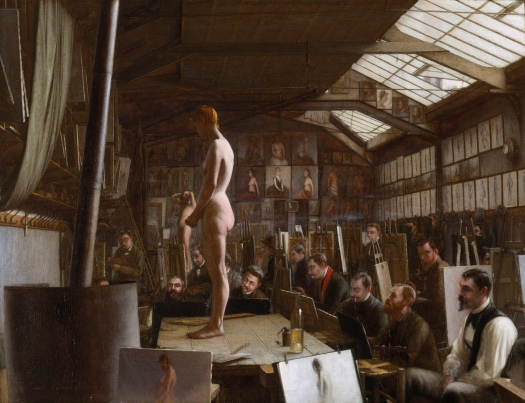 Bouguereau's_Atelier_at_the_Académie_Julian,_Paris_-_Jefferson_David_Chalfant_-_Google_Cultural_Institute