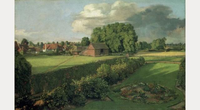 Golding Constable's Flower Garden John Constable 1815