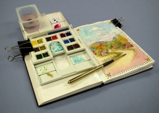 Everyday Artist Travel sketch kit